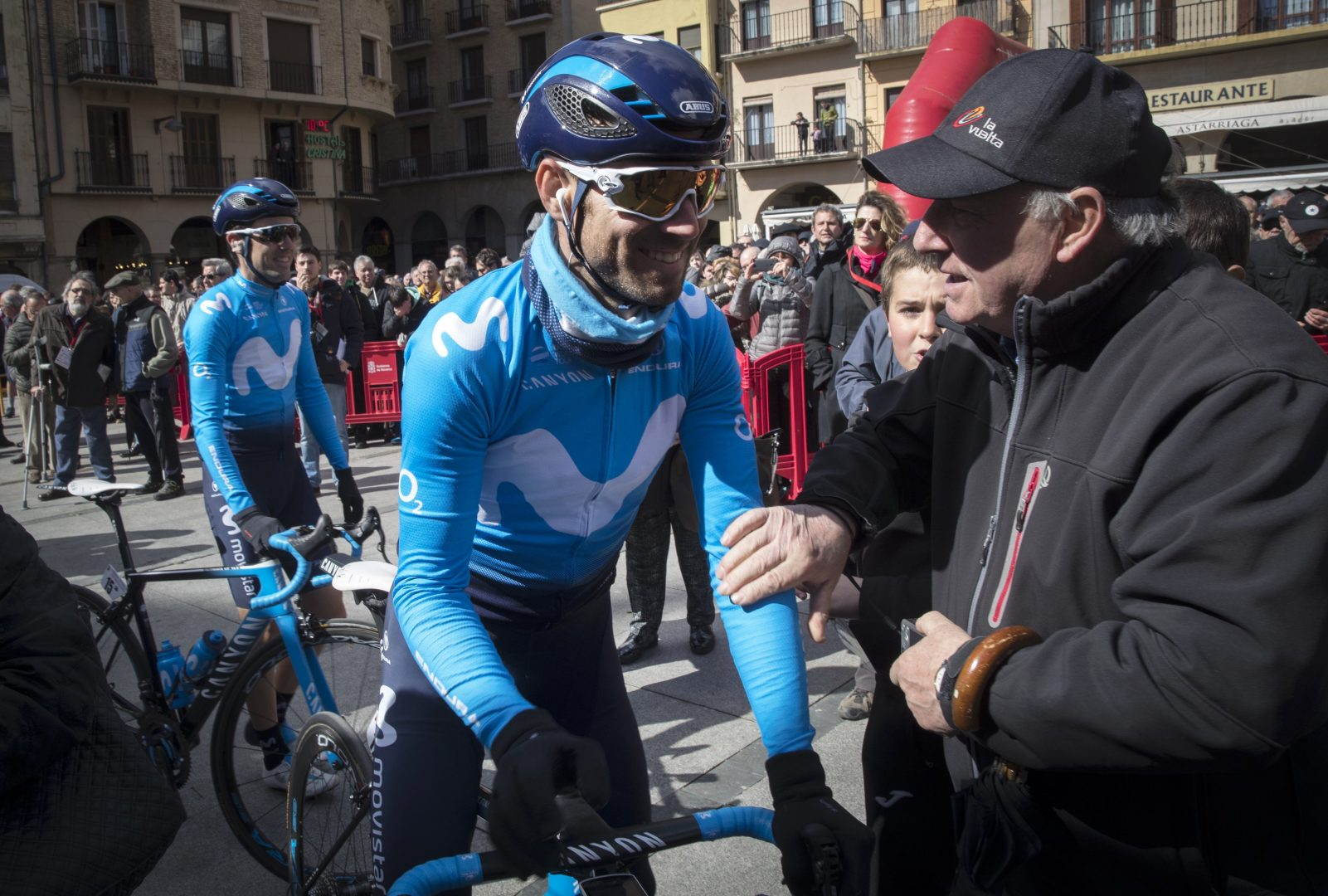 Valverde culmina un gran trabajo de Movistar con un demoledor ataque final (Foto: EFE/Villar López).