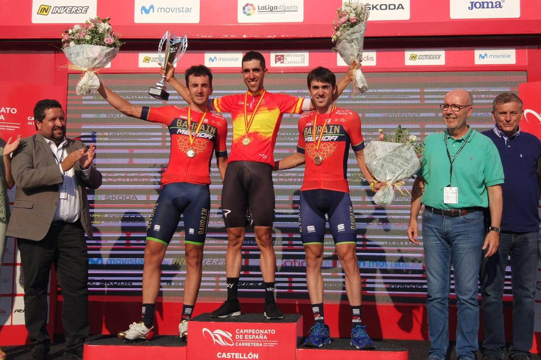 Jonathan Castroviejo, del Sky Team, logró revalidar su título de cómo Campeón Nacional de España contrarreloj