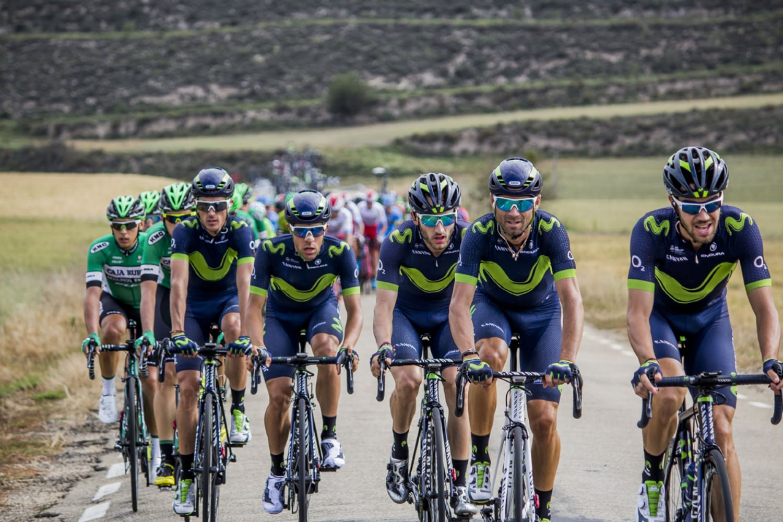 Los ciclistas de Movistar son favoritos para el Campeonato Nacional de España 2018. (Foto: RFEC/ Gómez Sport)