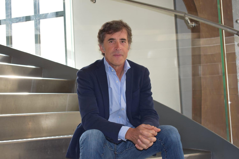 Perico Delgado en la Fundación Telefónica, durante la presentación del documental '30 años de amarillo' (Foto: La Guía del Ciclismo / Manuel González).