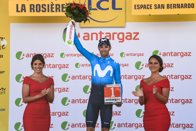 Alejandro Valverdefelicitó a su compañero Nairo Quintana por su triunfo y por cumplir uno de los objetivos del equipo, ganar una etapa en el Tour 2018.