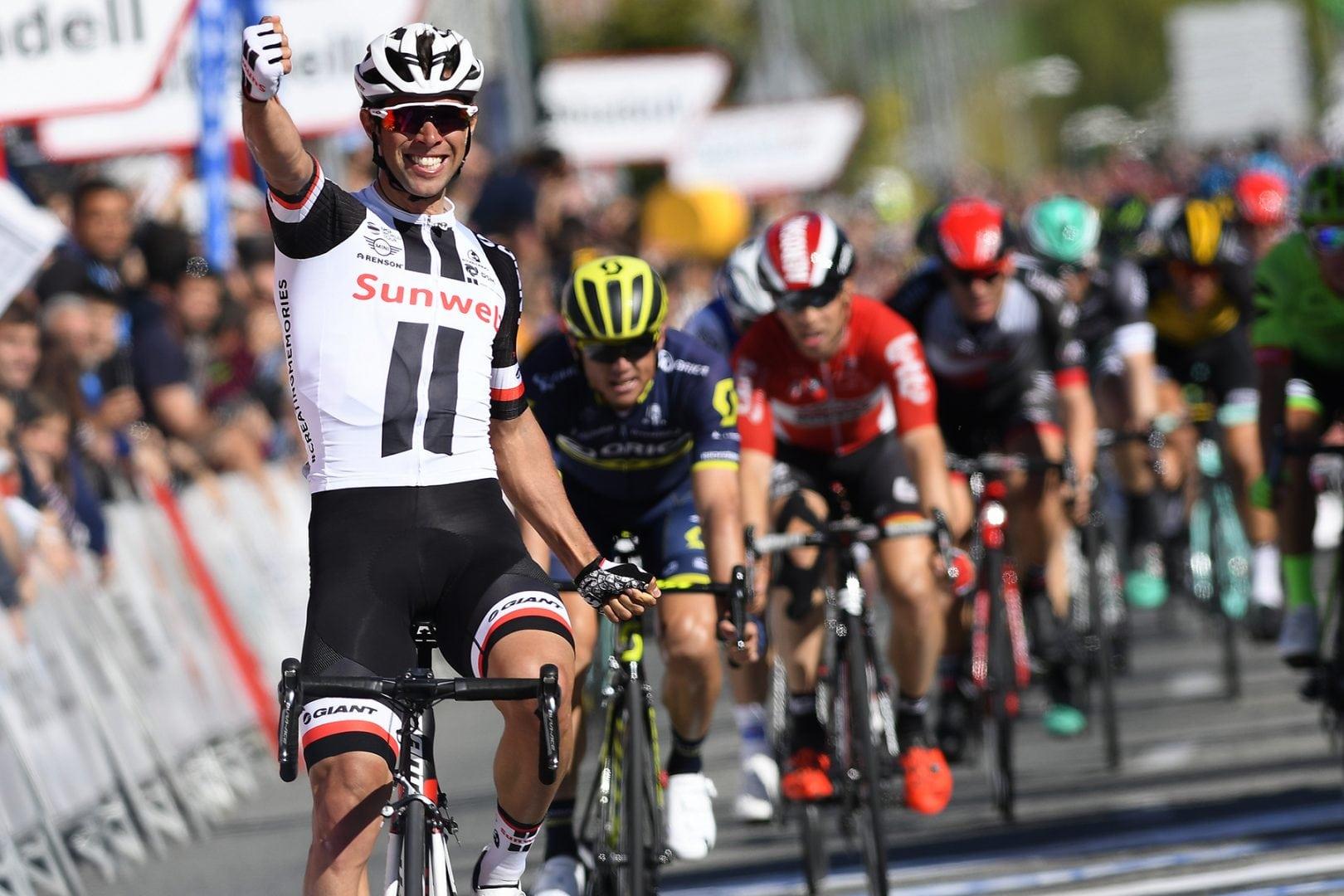 El australiano del Team Sunweb Michael Matthews durante una de sus victorias en el Tour de Francia.