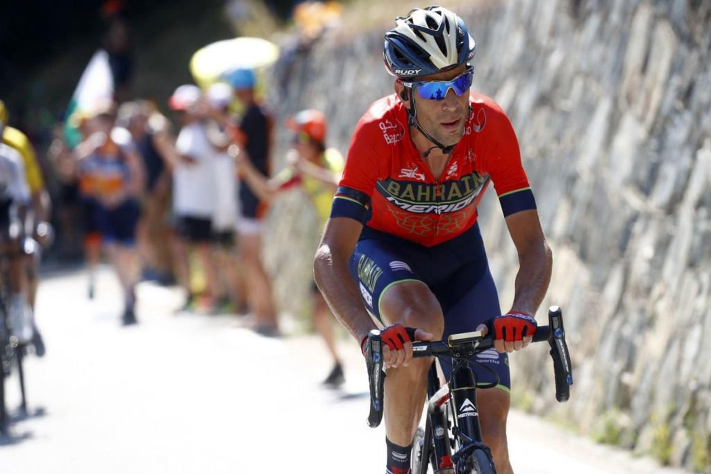 Vincenzo Nibali durante el pasado Tour de Francia.