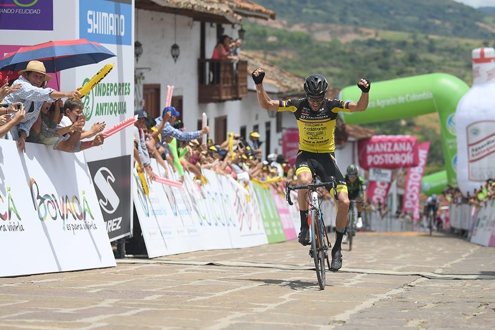 Frank Osorio gana la octava etapa de la Vuelta a Colombia