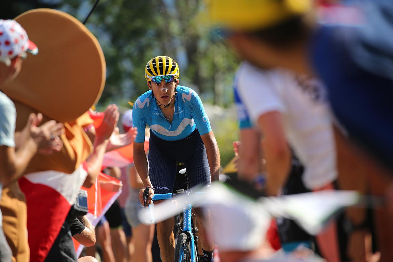 Tour de France 2018 - 105th Edition - 12th stage Bourg Saint Maurice Les Arcs - Alpe d'Huez 175 km - 19/07/2018 - Marc Soler (ESP - Movistar) - photo Kei Tsuji/BettiniPhoto©2018