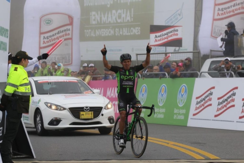 Montaña gana la etapa reina y el ecuatoriano Caicedo se acerca a la victoria