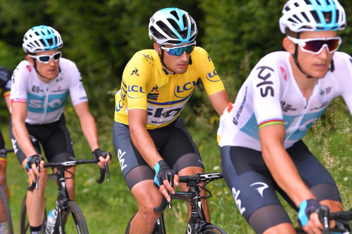 Gianni Moscon suspendido cinco semanas por su incidente en el Tour