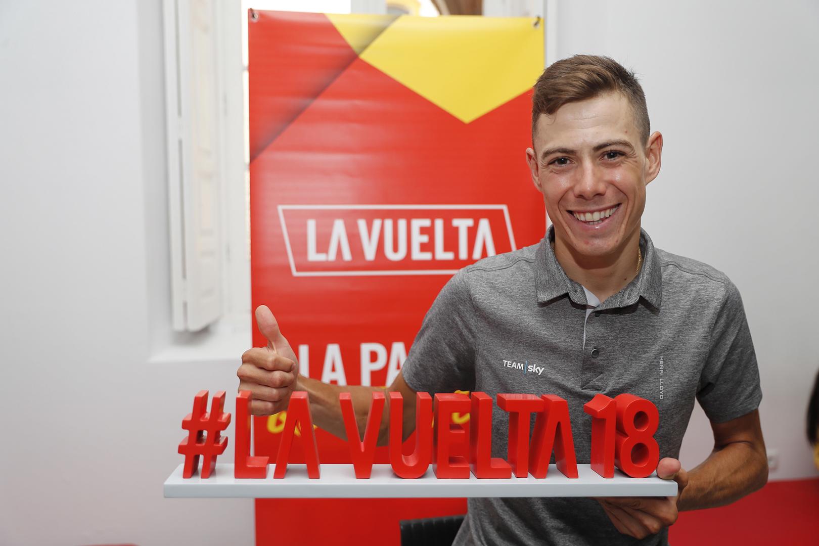 David De la Cruz (Sabadell, 1989) llegó en 2018 al Team Sky después de tres temporadas en el Quick Step Floors.