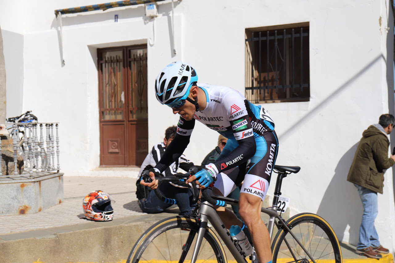 José Antonio García tendrá su primera oportunidad en la categoría Continental de la mano del Polartec-Kometa (Foto: Polartec).
