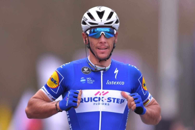 El belga no competía desde que se cayó en el Tour de Francia (Getty Images).