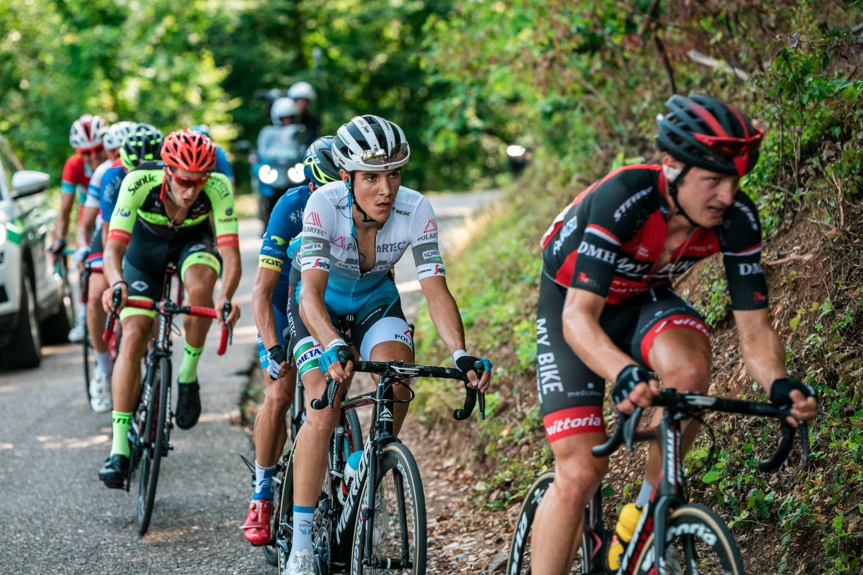 El italiano en una de las carreras en las que ha estado a prueba (Foto: Zoltán Vanik)