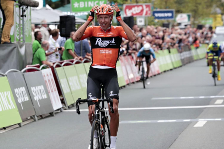 Van der Hoorn en el pasado Binck Bank Tour (Foto: Cor Vos).