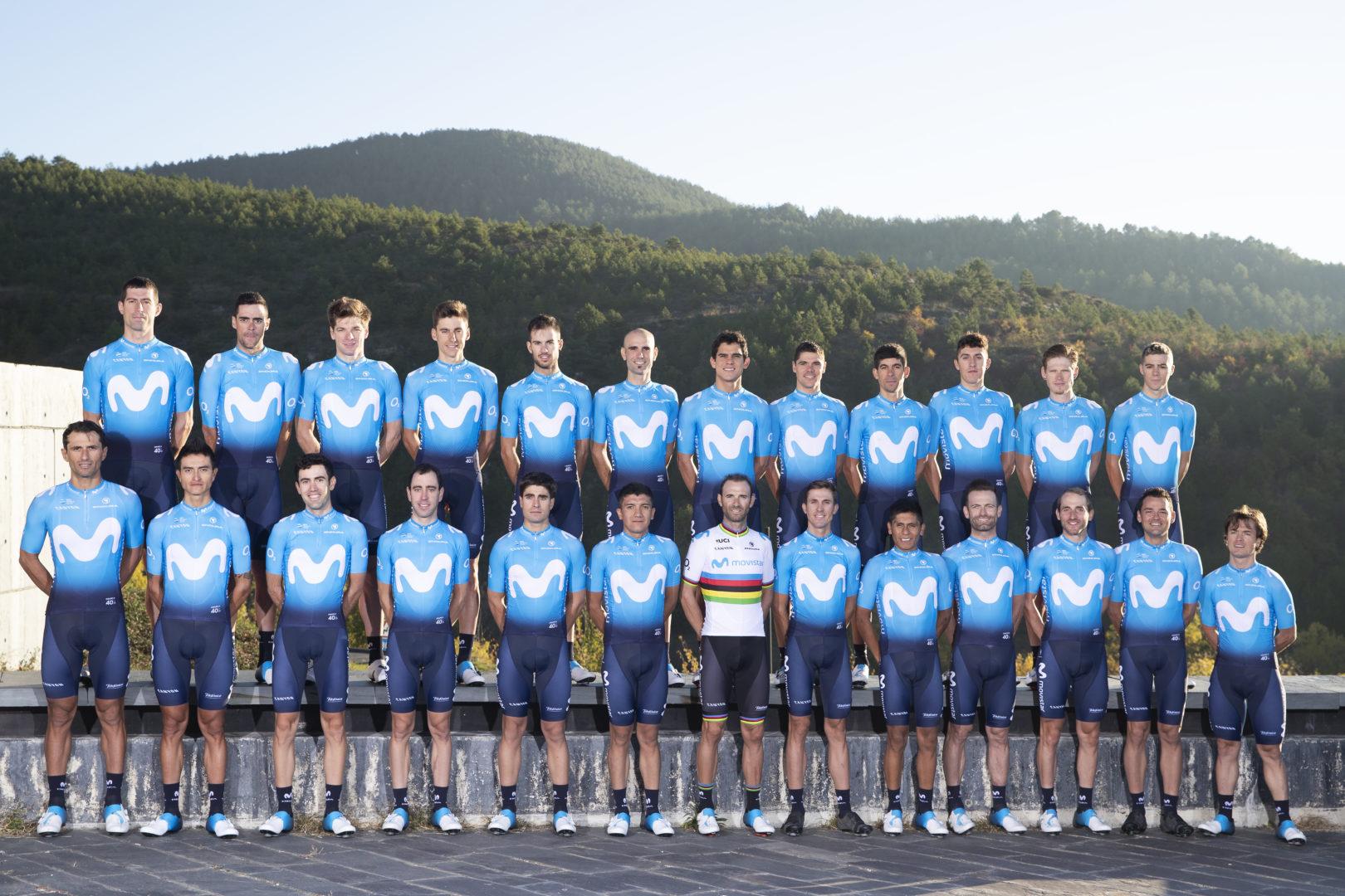 El Movistar Team confiará en su tridente Valverde-Quintana-Landa para 2019