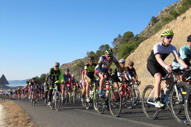 Imagen de la marcha cicloturista la Sierra de la Pila 2018. (Foto: Sierra de Pila).