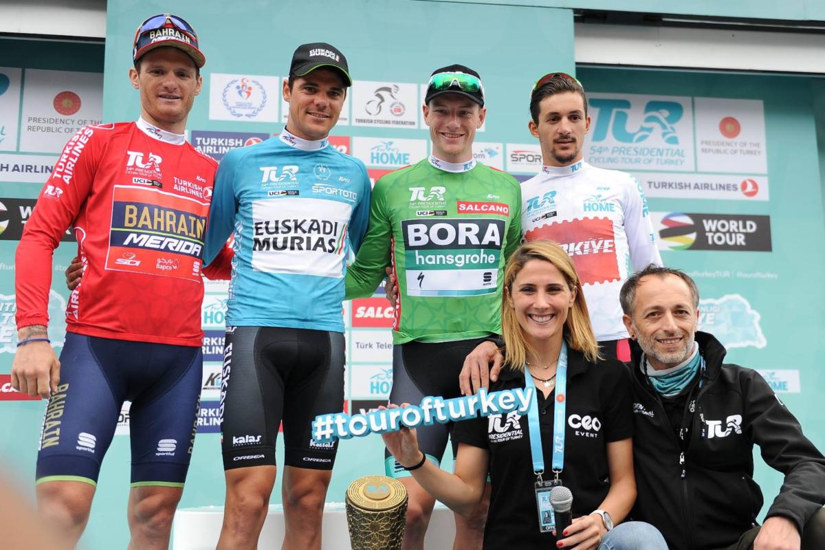 Edu Prades conquistó con el Euskadi Murias la Vuelta a Turquía 2018 (Foto: TourofTurkey).