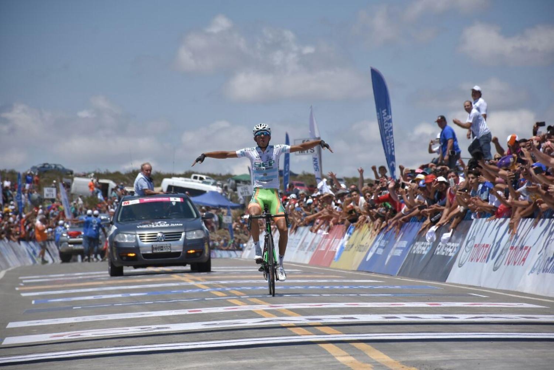 Najar se impuso en la quinta etapa de la Vuelta a San Juan (Foto: Vuelta a San Juan).