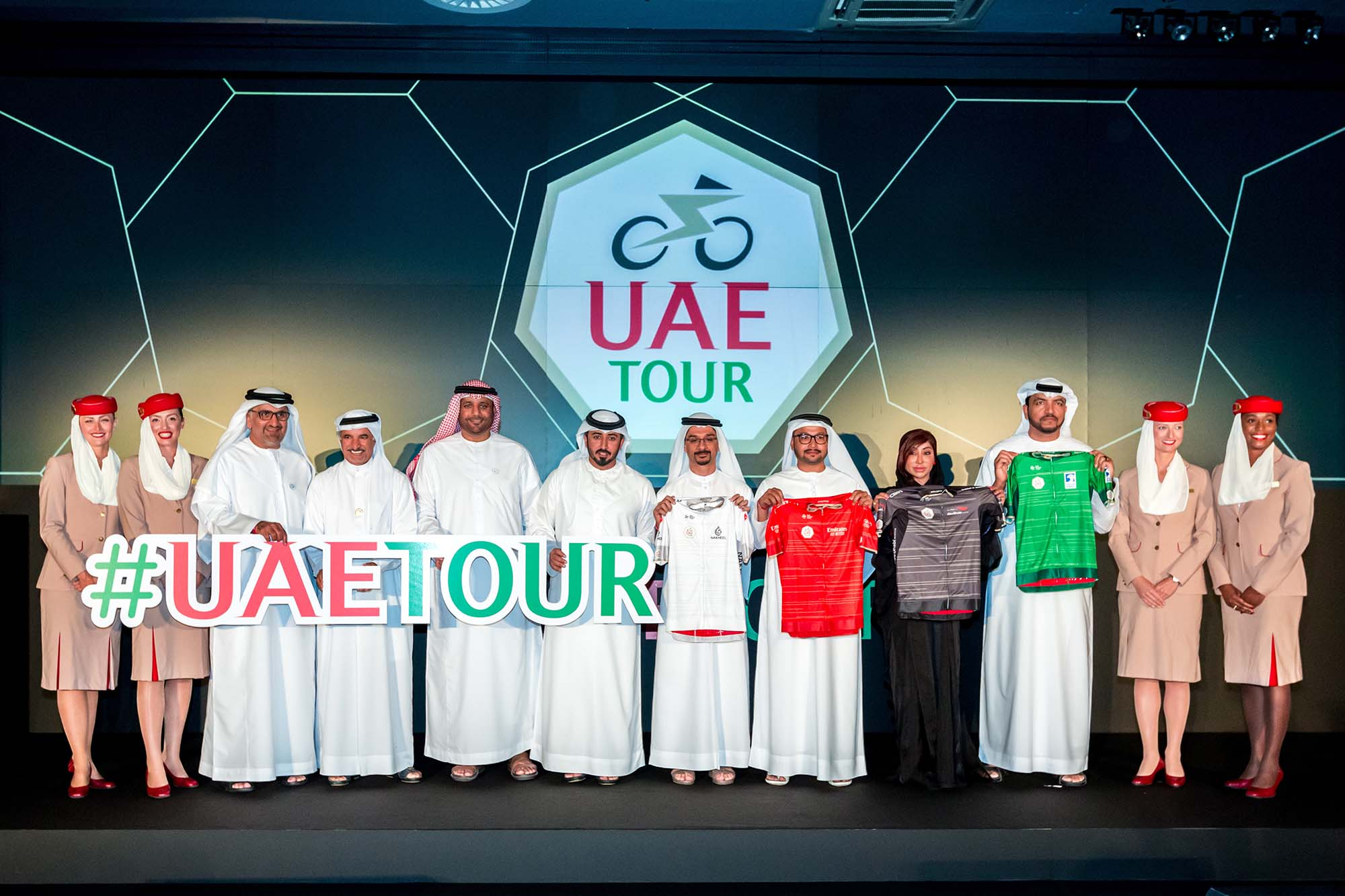 Febrero da pistoletazo de salida a las carreras world tour con el Tour a los Emiratos Árabes Unidos, UAE Tour.