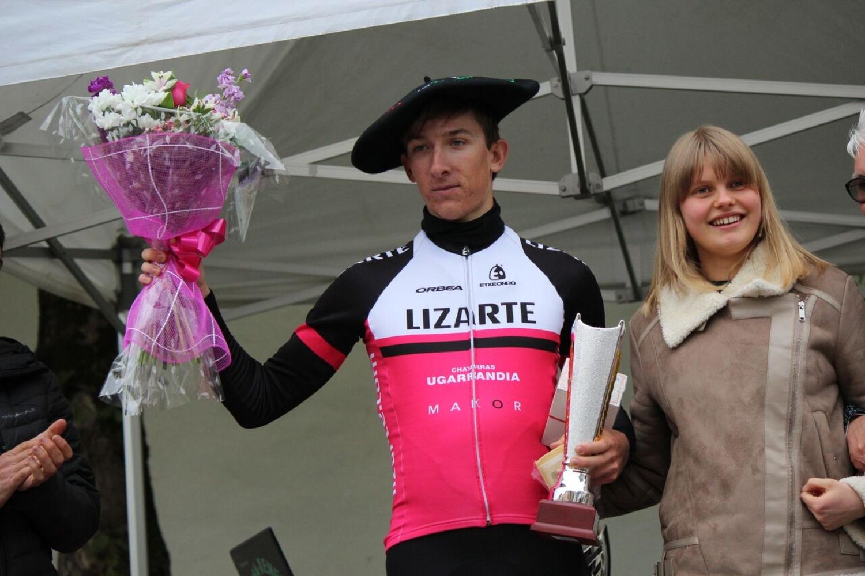 Zhigunov, último ciclista del Lizarte que promociona a profesionales