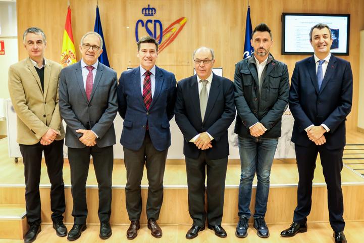 Presentación de la I Copa de España de Ciclismo (Foto: CSD).