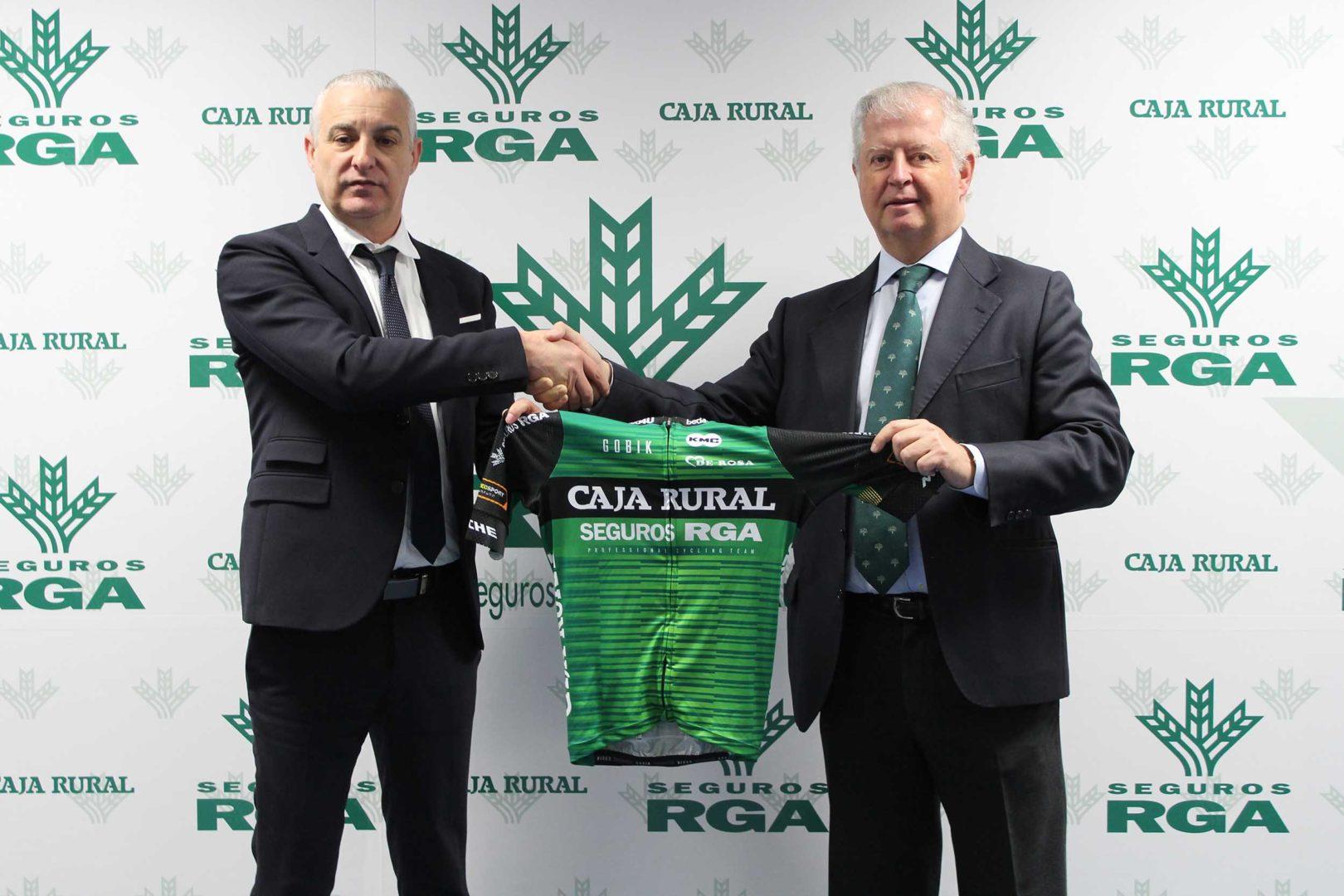 El conjunto Caja Rural RGA Seguros renueva su patrocino con el ciclismo por dos años más