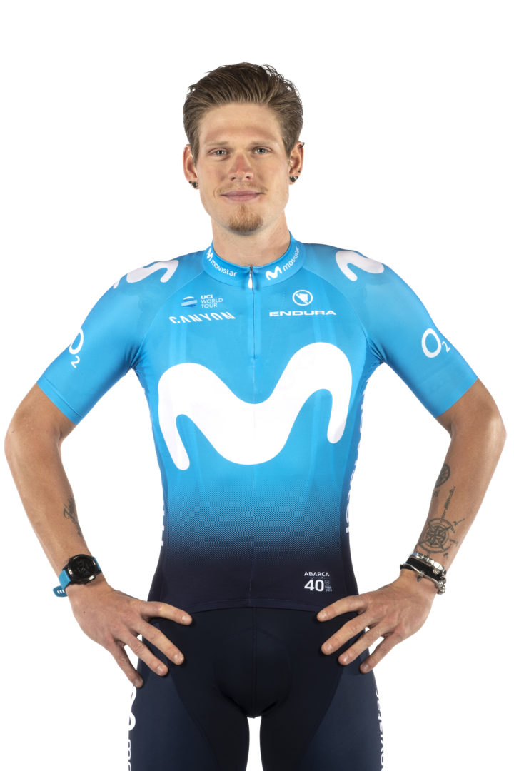 Jasha Sütterlin Movistar Team.