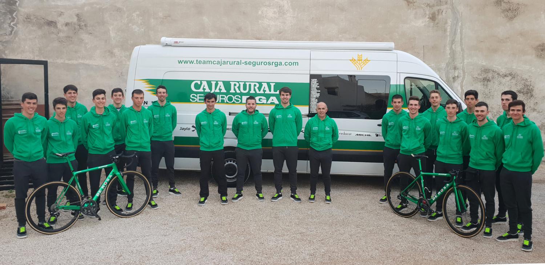 El filial del Caja Rural comienza la temporada con 21 ciclistas