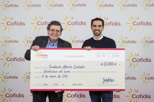Cofidis Fundación Contador