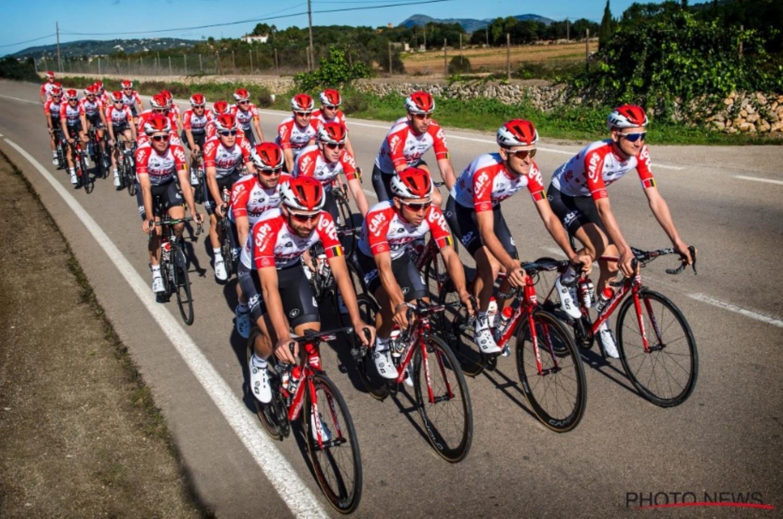 El equipo belga durante un entrenamiento (Foto: Photo News).