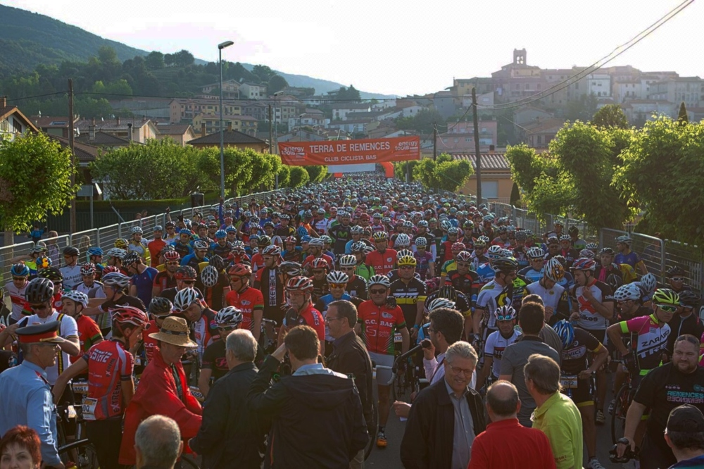 Marcha cicloturista Terra de Remences
