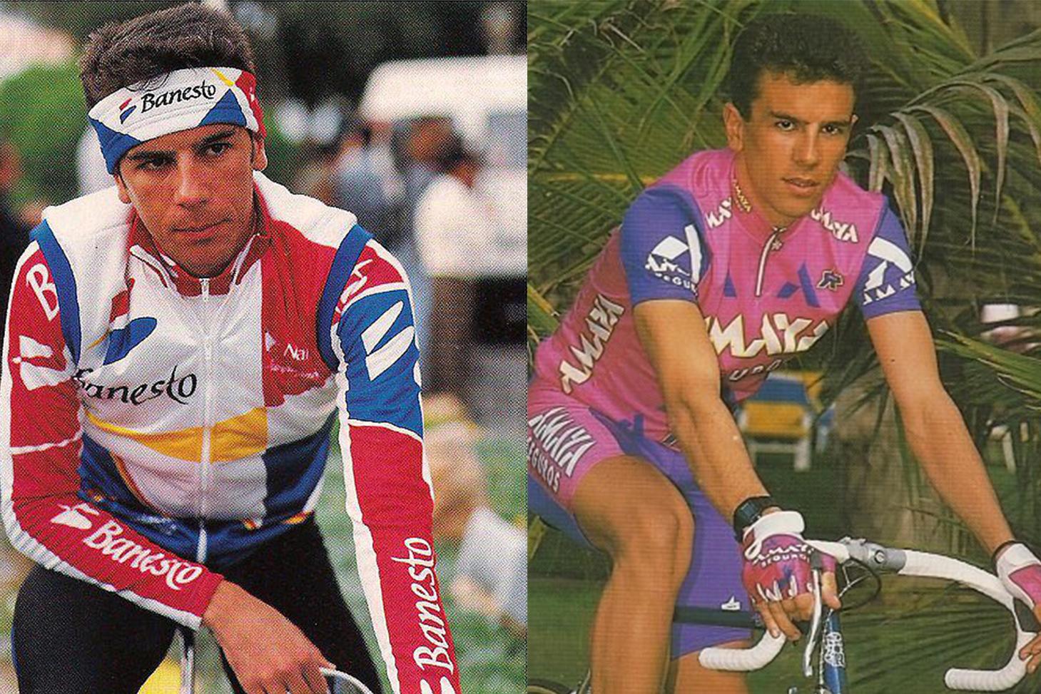 25 años sin Antonio Martin, ciclista del Amaya Seguros y el Banesto