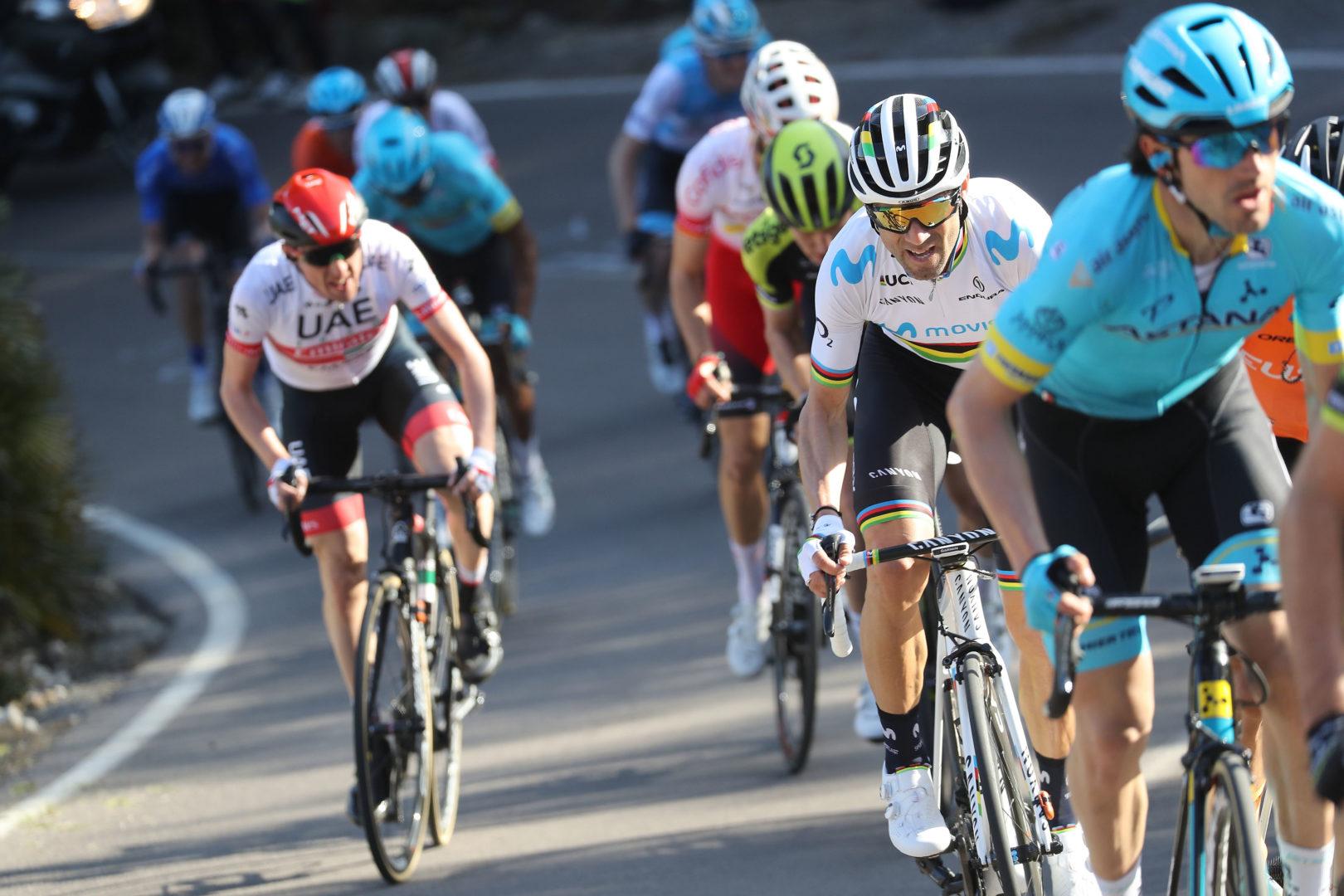 Volta a la Comunitat Valenciana 2019 - 70th Edition - 4th stage Vila-Real - Alcala -Alcocebre 188 km - 09/02/2019 - Alejandro Valverde (ESP - Movistar Team) - photo Luis Angel Gomez/BettiniPhoto©2019