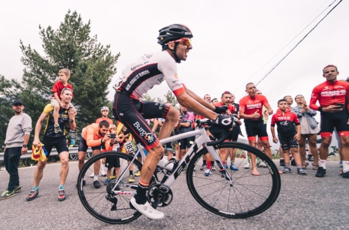 El castellonense durante la Vuelta a España.