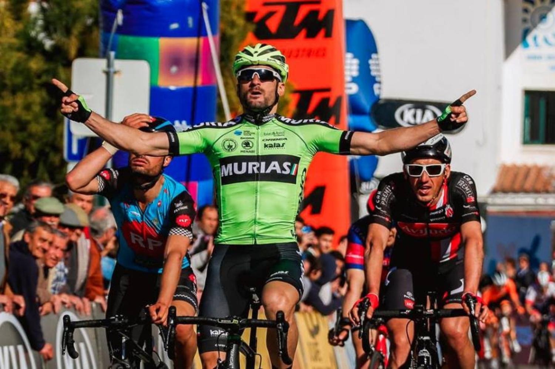 Enrique Sanz logra la primera victoria del Euskadi Murias en la Vuelta al Alentejo