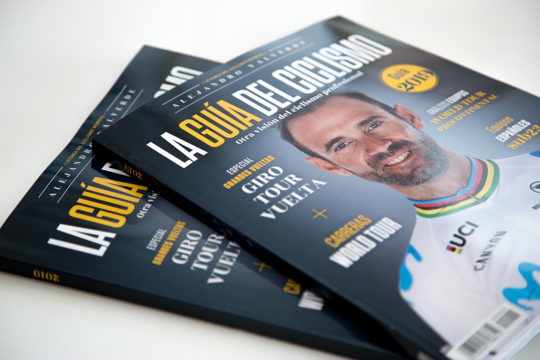 La Guía del Ciclismo 2019 recopila toda la actualidad ciclista profesional masculina.