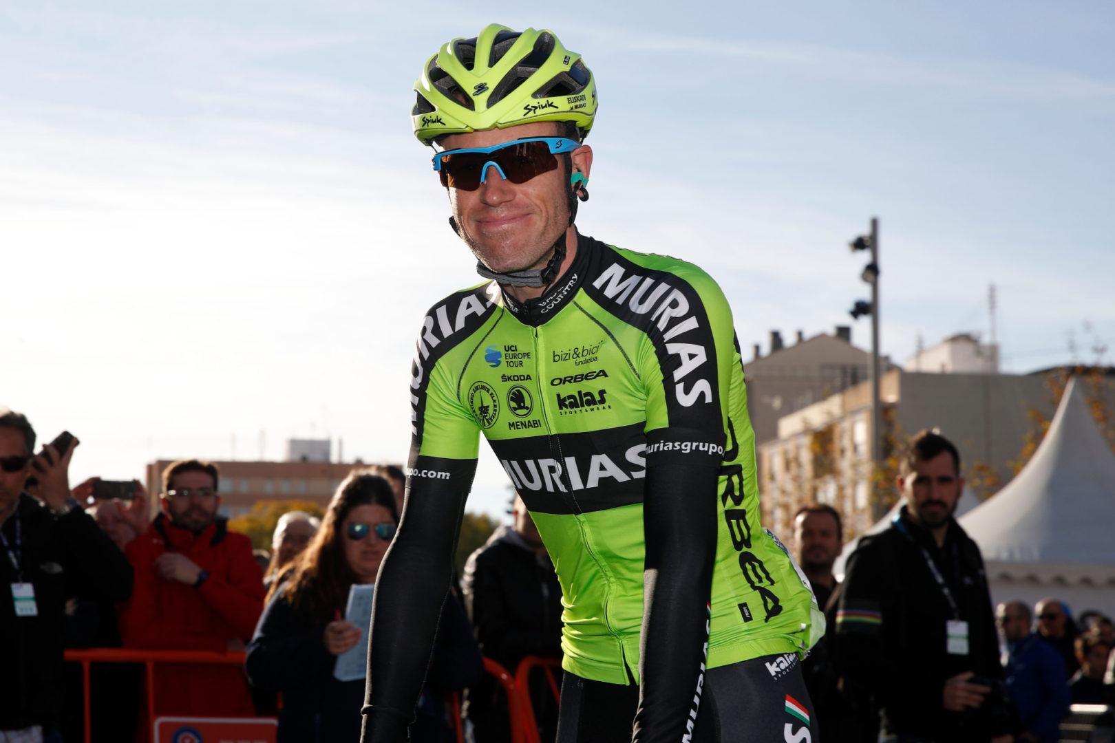 """Garikoitz Bravo: """"Odriozola me dio la oportunidad de seguir como ciclista profesional en el Murias"""""""