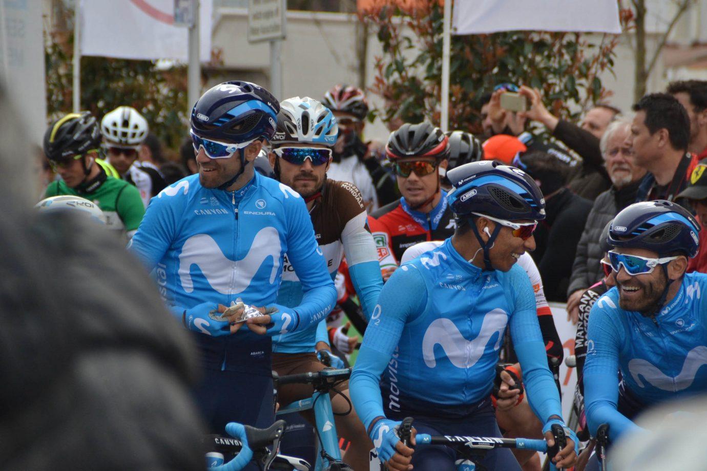 Alejandro Valverde y Nairo Quintana estarán en la salida de A Través de Flandes.