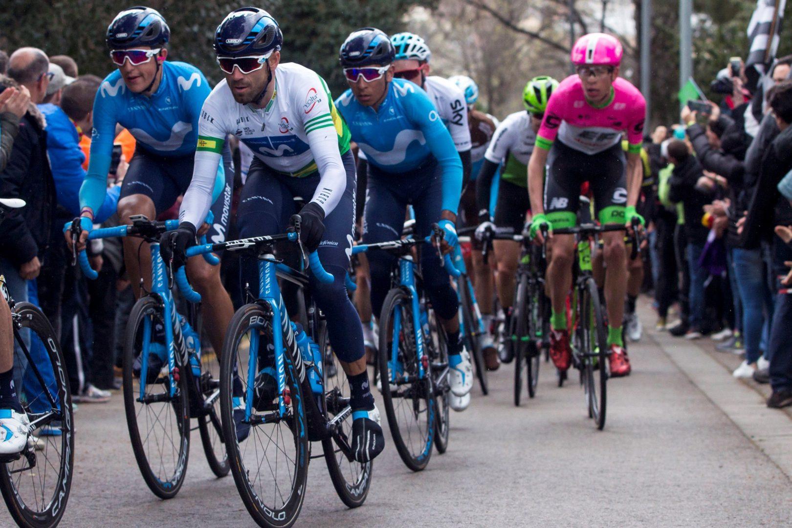 Alejandro Valverde estará en la salida de la Klasika de Primavera (Foto: EFE/Quique García).