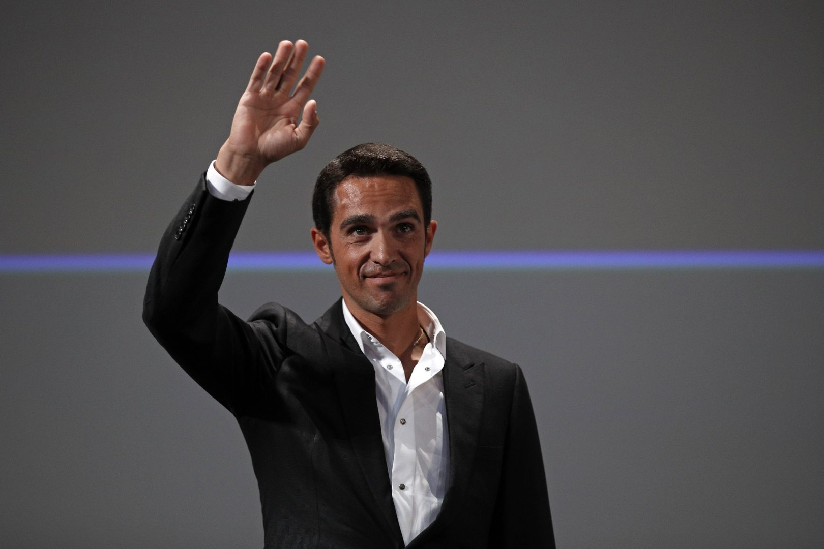 Alberto Contador habló para el medio italiano Il Messaggero (Foto: EFE/YOAN VALAT).