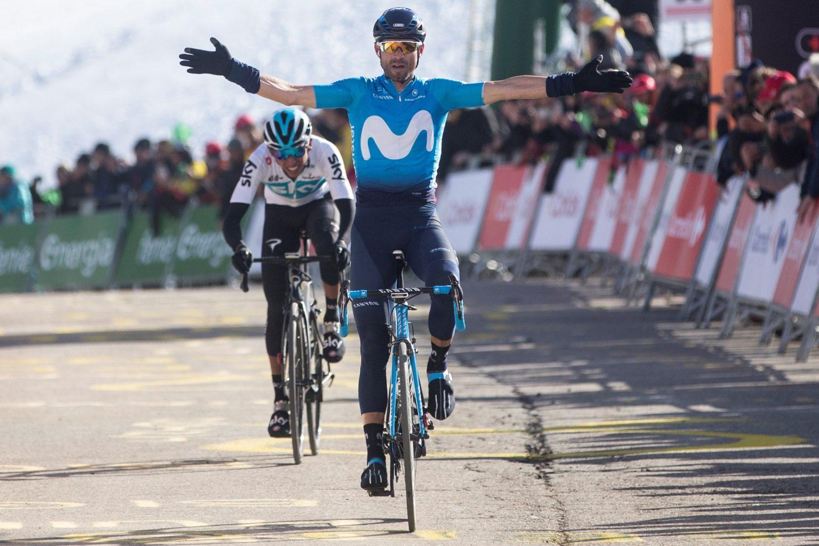 Valverde no pudo ganar su sexta Flecha Valona y reconoció que el francés Julian Alaphilippe