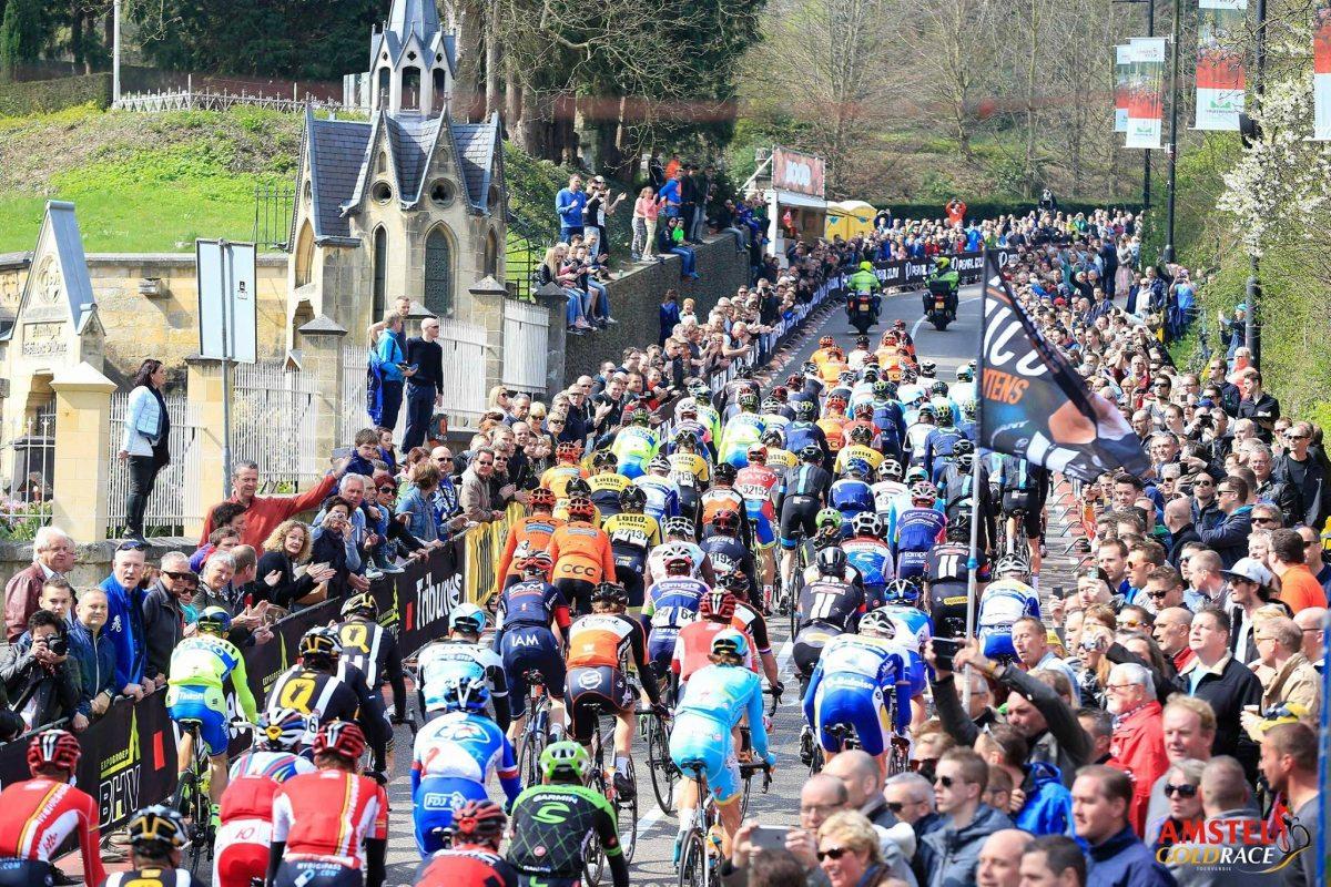 Trayecto de la Amstel Gold Race.
