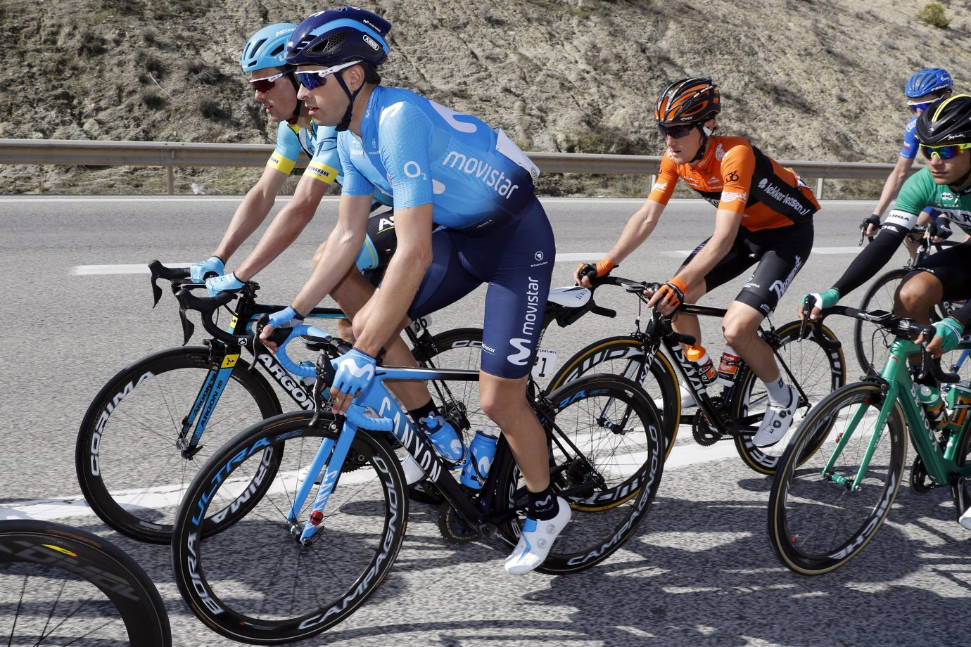 Movistar presentará un equipo potente, en la que apostará por su líder desde el primer día, donde afrontará una crono por escuadras de más de 20 kilómetros. (Foto: Gómez Sport)