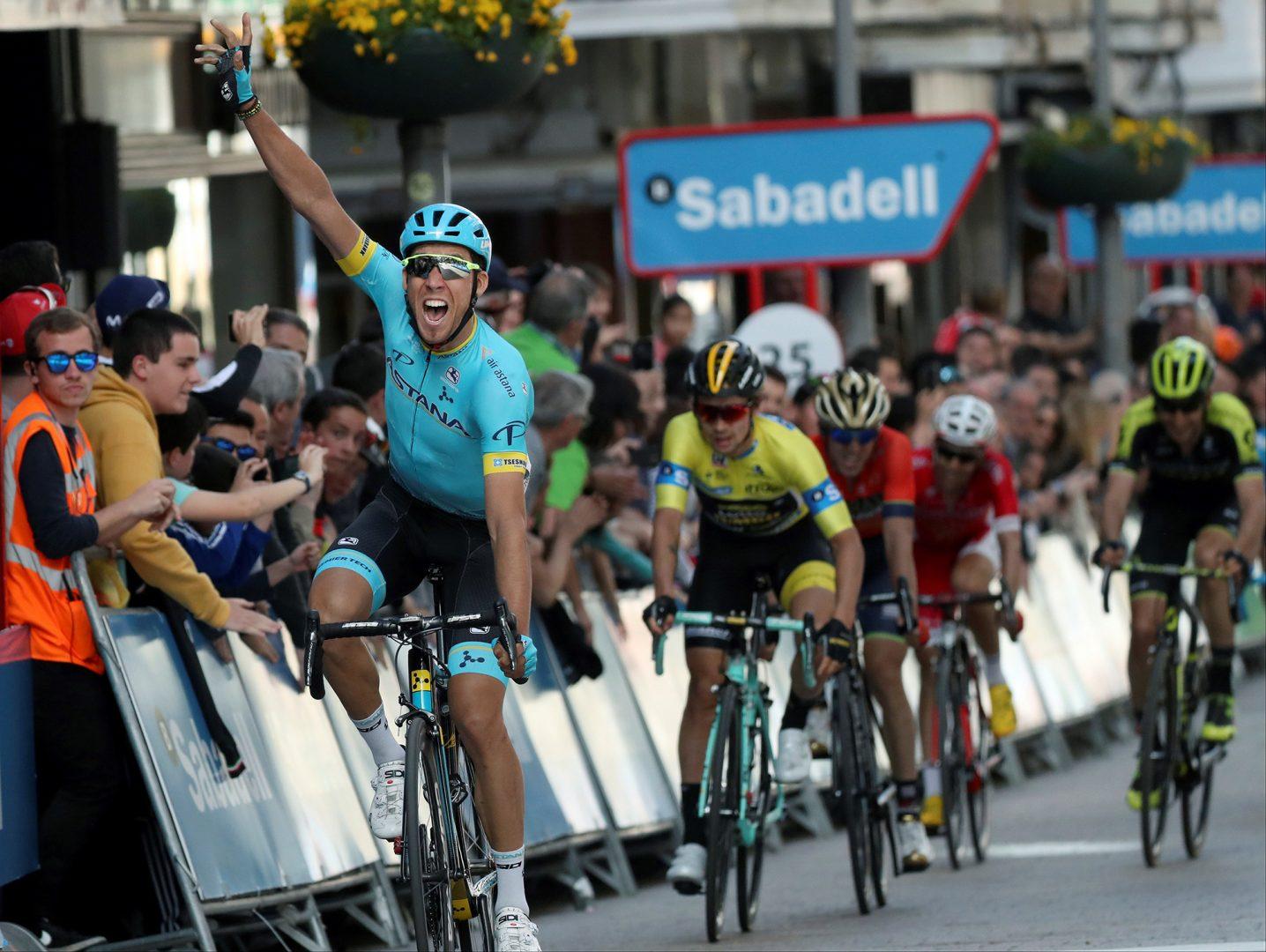Omar Fraile (Astana) ha sumado varios triunfos en esta temporada (Foto: EFE).