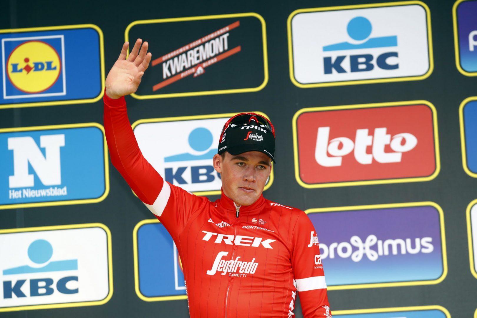El joven danés, Mads Pedersen, ha ampliado su contrato con Trek Segafredo hasta 2020. (Foto: Luca Bettini/BettiniPhoto©2018)