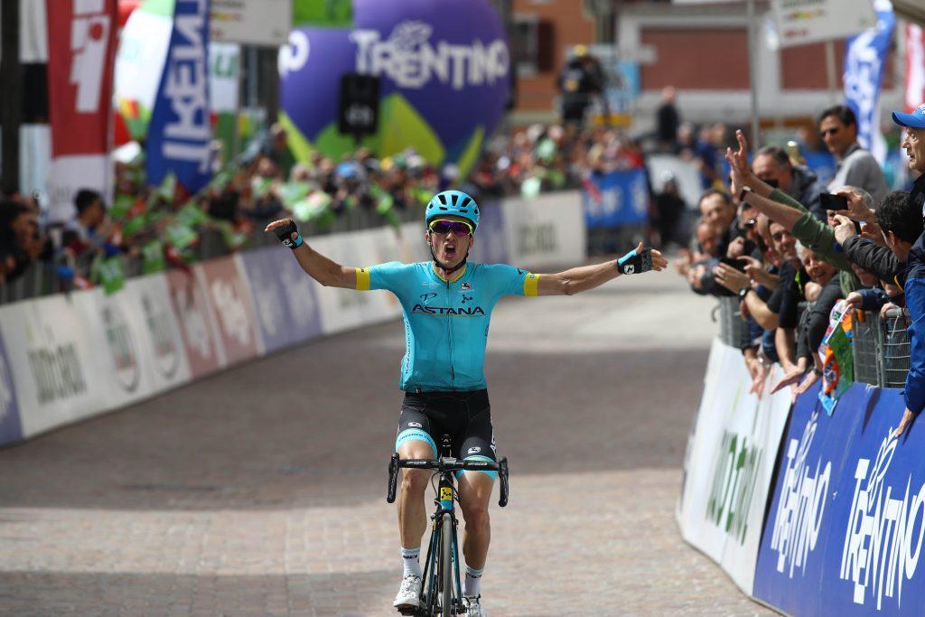 Pello Bilbao logra la victoria en la primera etapa del Tour de los Alpes (Foto: Pentaphoto).