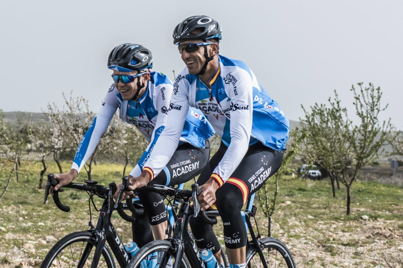 Rubén Plaza será el más veterano del plantel (Foto: Israel Cycling).