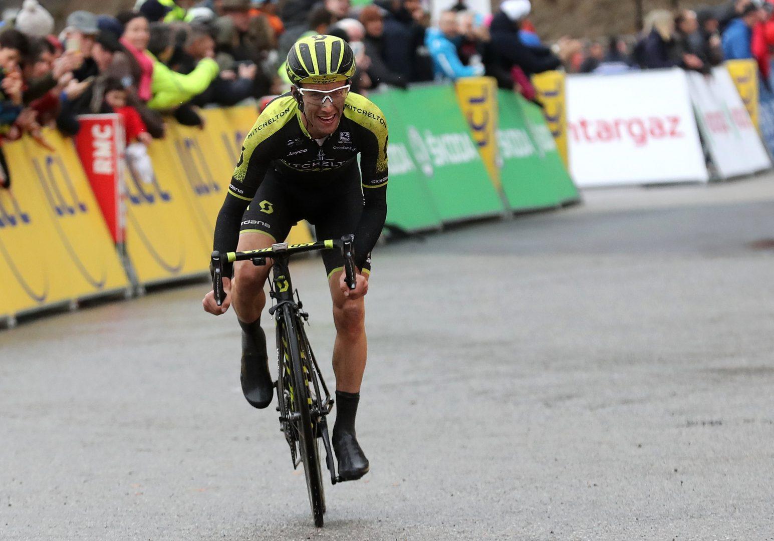 El británico de MTS ganó la séptima etapa de la París Niza y se puso en lo más alto de la clasificación general a falta de una jornada para el final de la Clásica francesa. (Foto: Alex Broadway)