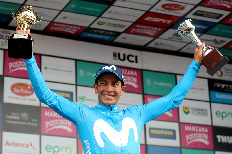 El ciclista colombiano de Movistar Dayer Quintana (Foto: EFE).
