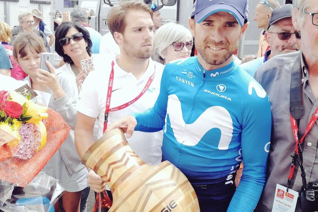 Alejandro Valverde, ganador de la Ruta de Occitaniaeste domingo, considera que