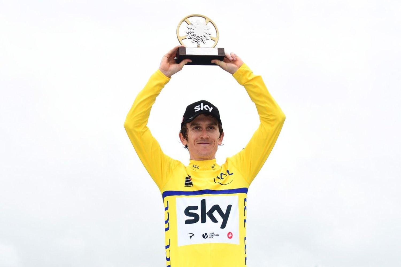 Geraint Thomas, bien arropado por el poderoso equipo Sky, se convirtió este domingo en el tercer ciclista británico que gana el Criterium de Dauphiné, y su compatriota Adam Yates arrebató al español Dani Navarro el triunfo en la séptima y última etapa. (Foto: Critérium du Dauphiné)