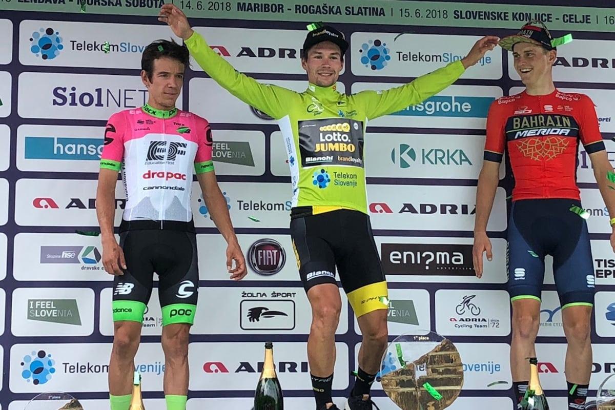 Primoz Roglic gana el Tour de Eslovenia por delante de Rigoberto Urán